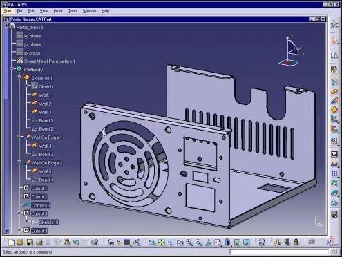 CATIA Sheet Metal Design